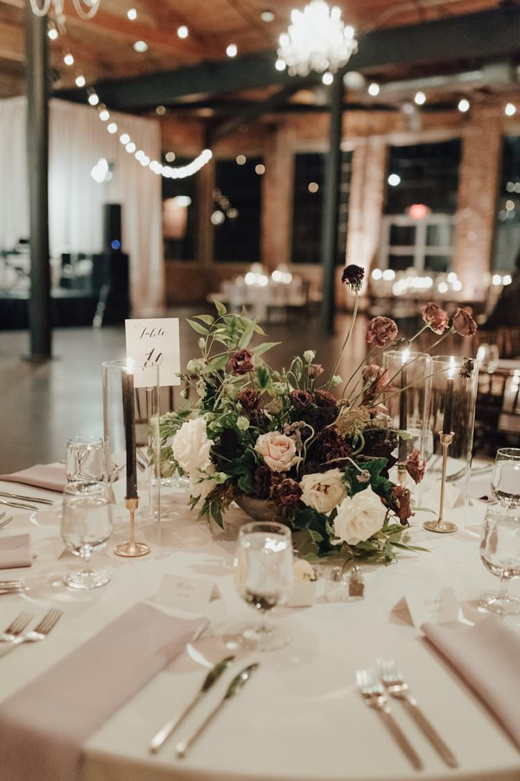 Modern Stylish Minimalist Chic Refined Decor Geometric Candles | Urban Industrial Luxe Wedding http://hellencophotos.com/