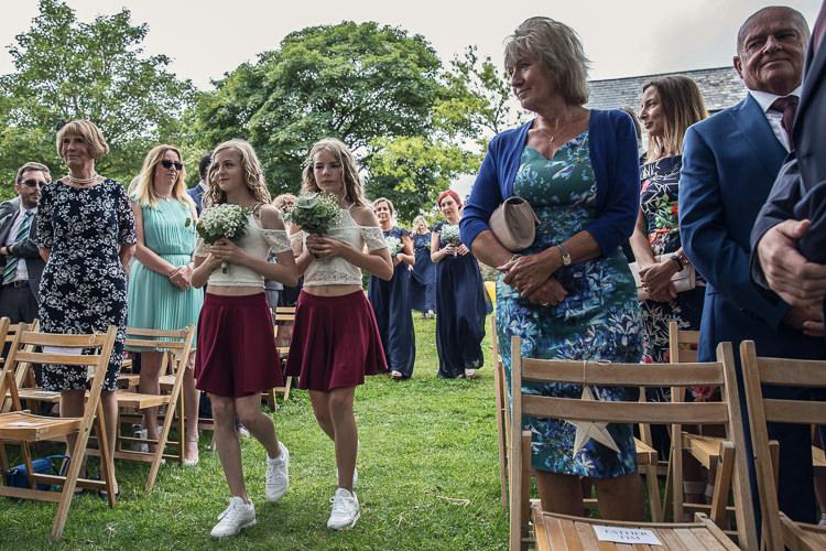 Bridesmaids Skater Skirts Heartfelt Celestial Handmade Wedding http://assassynation.co.uk/