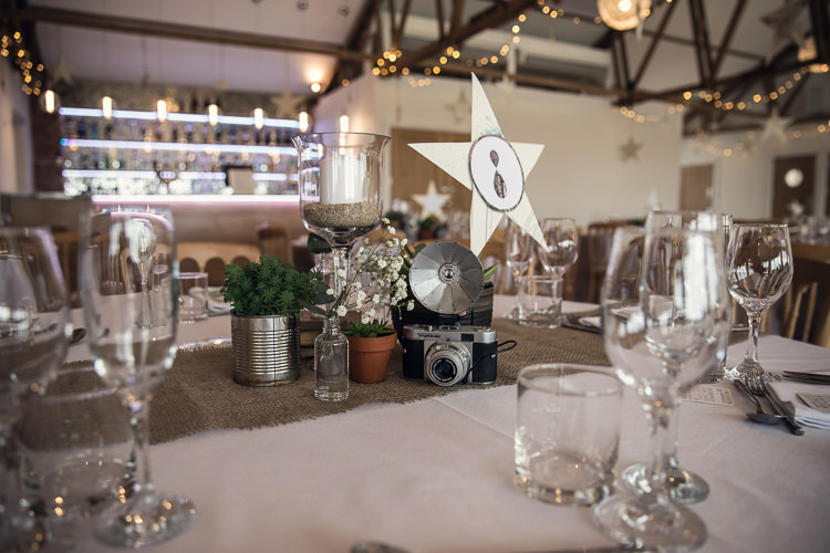 Vintage Camera Decor Heartfelt Celestial Handmade Wedding http://assassynation.co.uk/