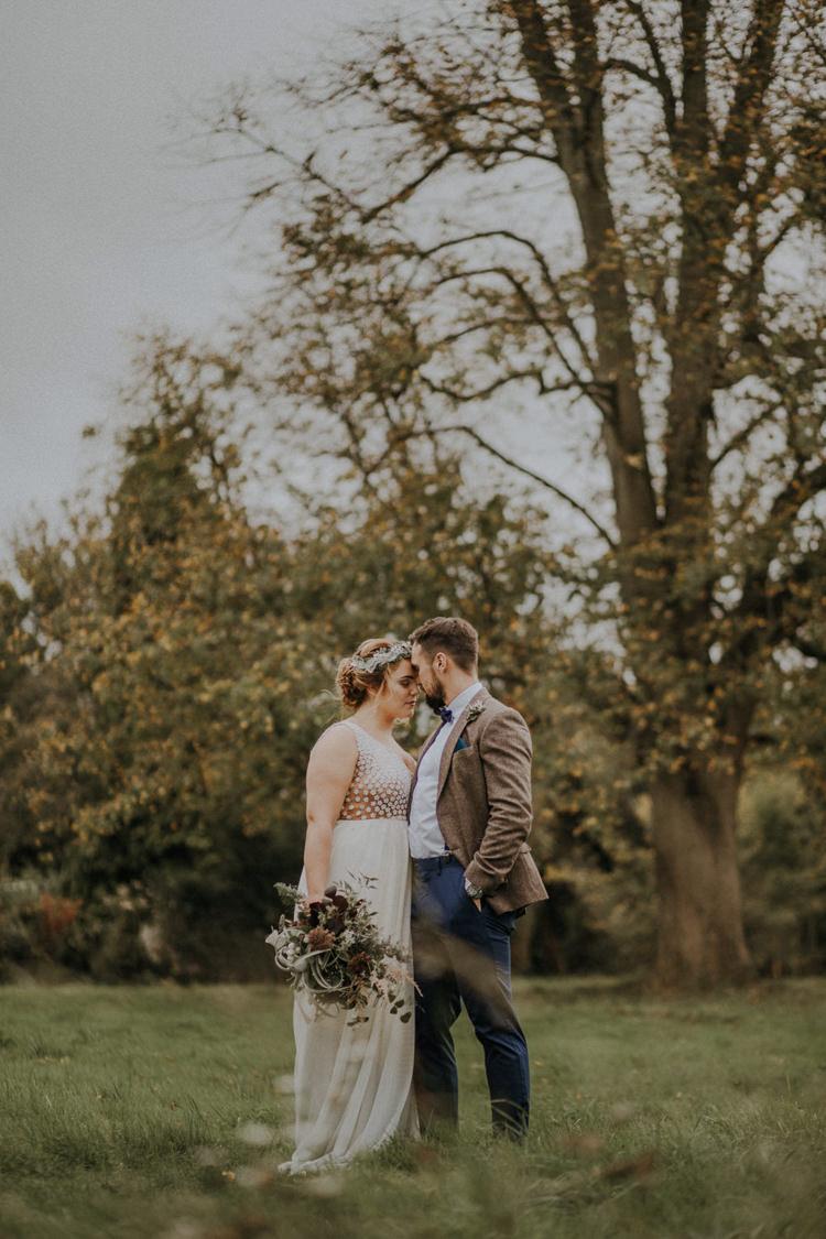 Dress Bride Bridal Gown Flowing Long Bohemian Cool Raw Crystal Wedding Ideas https://lolarosephotography.com/