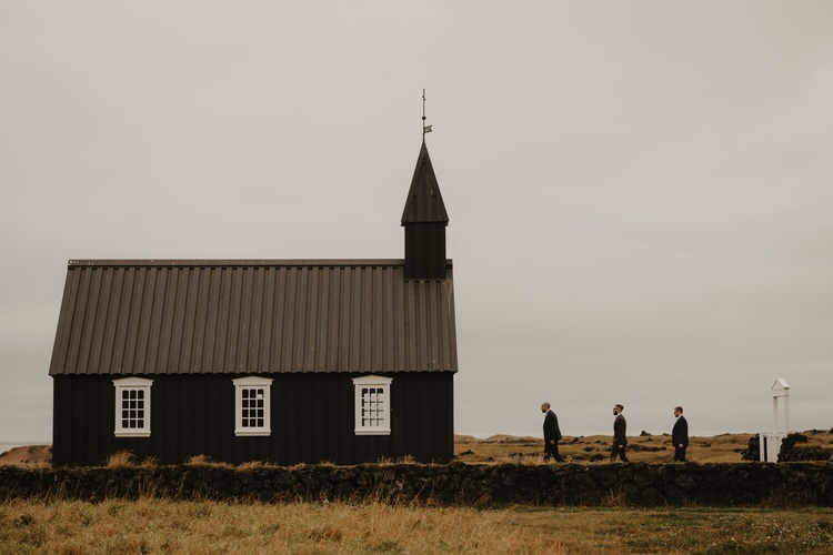 Minimalist Simple Natural Destination Elopement Church Nordic Scandinavian Style | Intimate Adventurous Emotional Iceland Wedding http://www.thecurries.co/