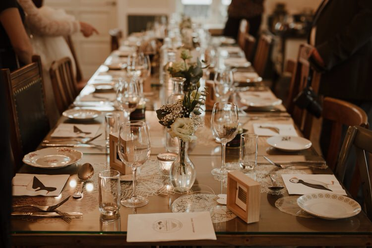Neutral Elegant Simple Minimalist Decor Restaurant Reception | Intimate Adventurous Emotional Iceland Wedding http://www.thecurries.co/