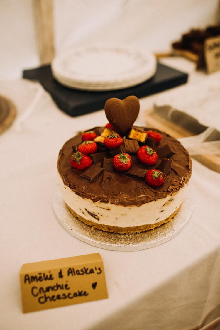 Cheese Cake Joyful Homespun Humanist Farm Camping Wedding https://aniaames.co.uk/