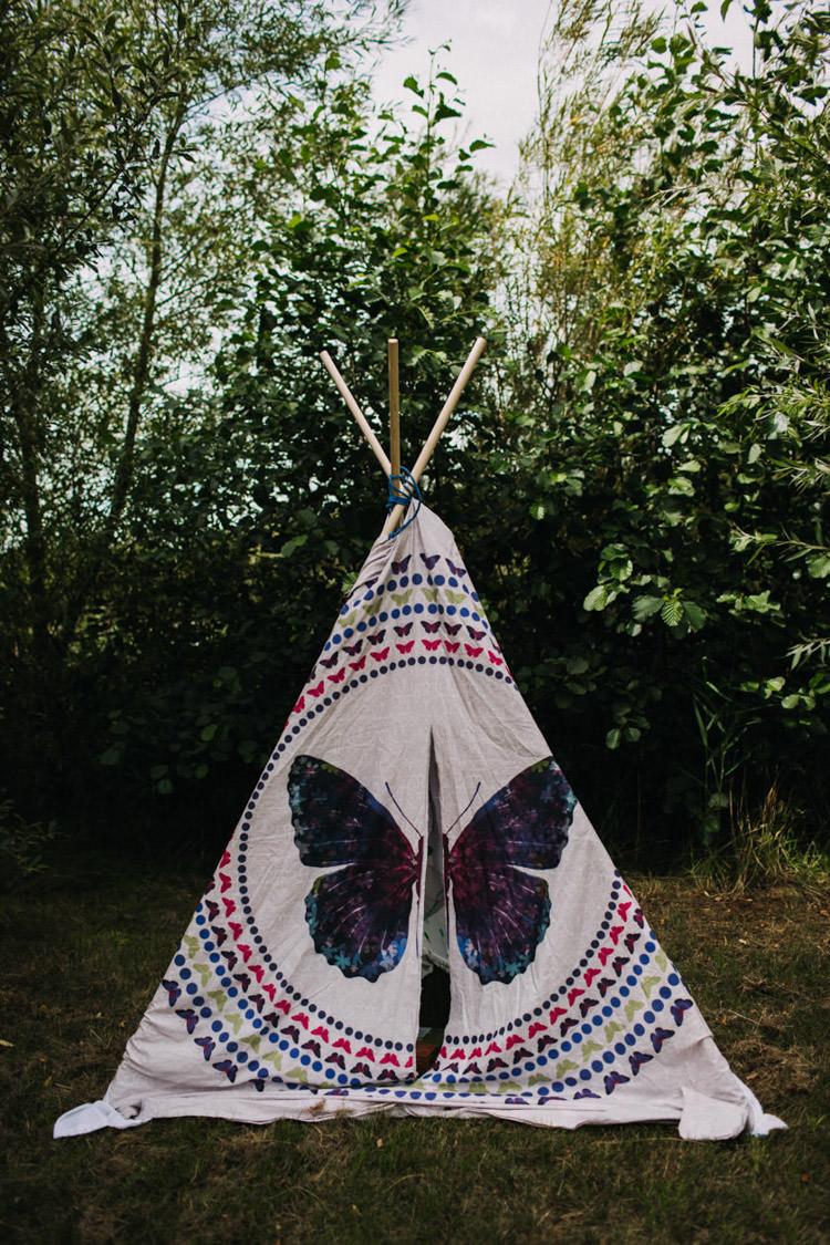 Tipi Tent Childrens Kids Joyful Homespun Humanist Farm Camping Wedding https://aniaames.co.uk/