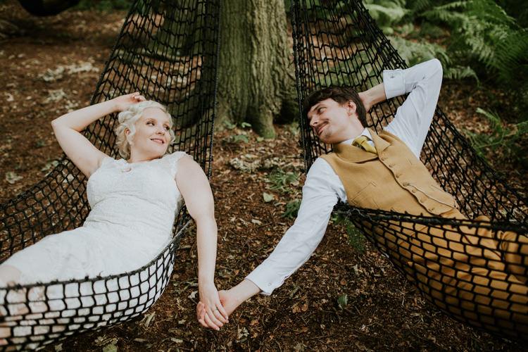 Field Garden Woodland Meadow Hippie Summer Bride Groom Hush Venue Hammock | Happy Outdoor Forest Mustard Yellow Wedding http://suzi-photography.com/