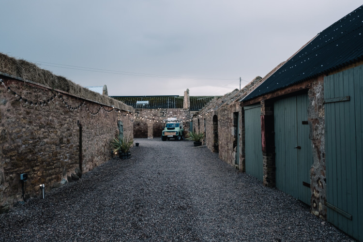 The Cow Shed Crail Barn Wedding Venue Scotland http://www.harperscottphoto.com/