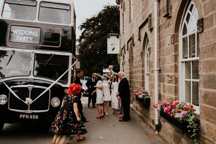 Double Decker Bus Tropical DIY Moon Photo Booth Wedding https://photo.shuttergoclick.com/