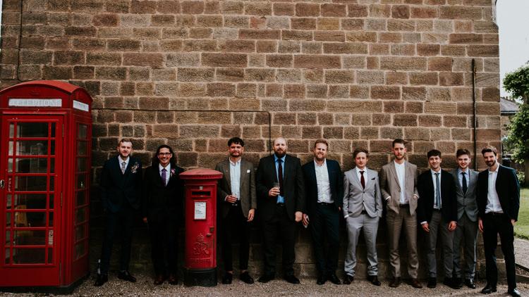 Groom Groomsmen Suits Tropical DIY Moon Photo Booth Wedding https://photo.shuttergoclick.com/