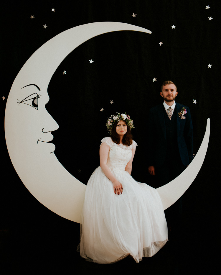 Tropical DIY Moon Photo Booth Wedding https://photo.shuttergoclick.com/