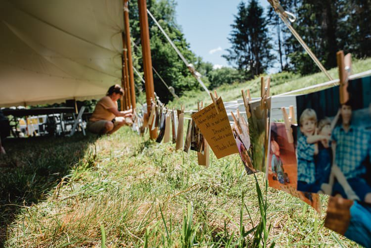 Breathtaking Secluded Back Garden Open Sided Tent Wedding Vermont https://kickasscouples.com/