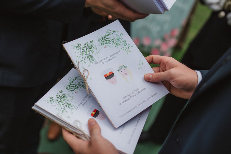 Order Service Stationery Illustrated Natural Country Garden Hand Crafted Wedding https://emilytylerphotography.com/