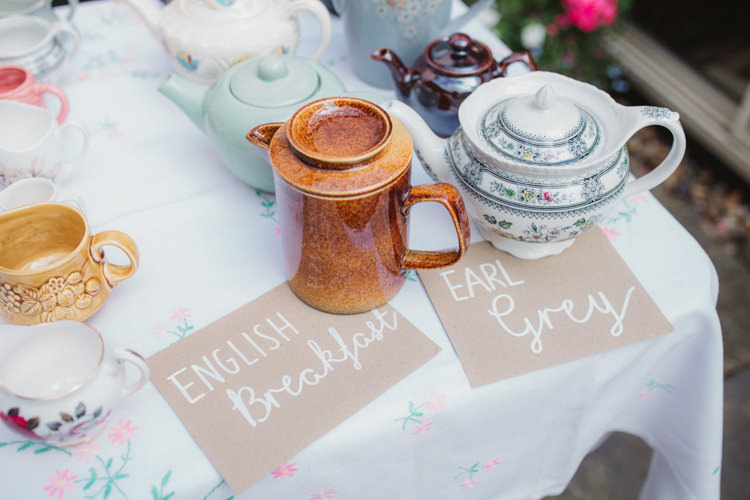 Tea Drinks Natural Country Garden Hand Crafted Wedding https://emilytylerphotography.com/