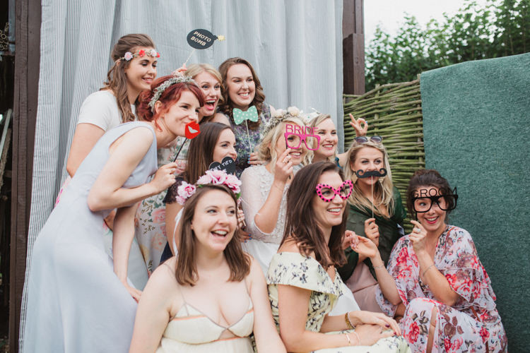 Photo Booth Natural Country Garden Hand Crafted Wedding https://emilytylerphotography.com/