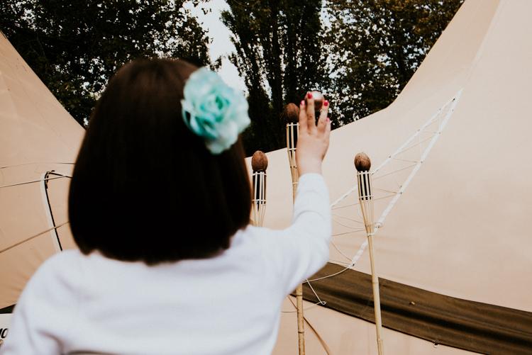 Fairground Coconut Shy Practically Perfect Tipi Camp Wedding Thwaite Mills https://photo.shuttergoclick.com/index