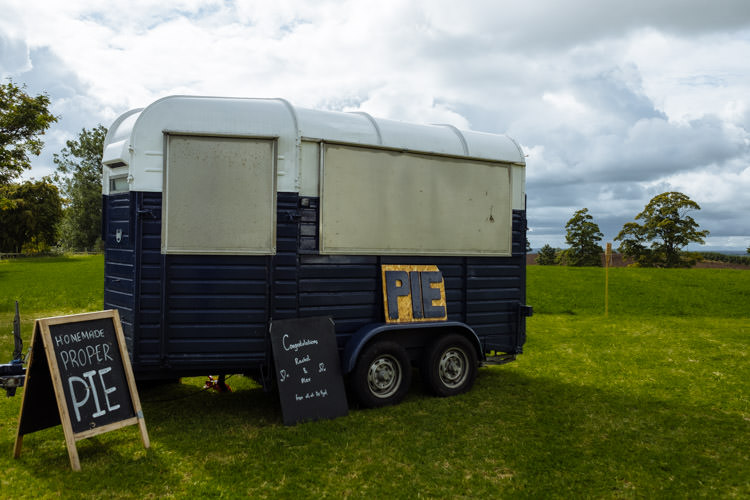 DIY Pie Food Truck Marquee Tipi Seasonal Alternative Hippy Farm Field Garden Wedding | Homegrown Community Eclectic Rural Yorkshire Wedding https://toastofleeds.co.uk/