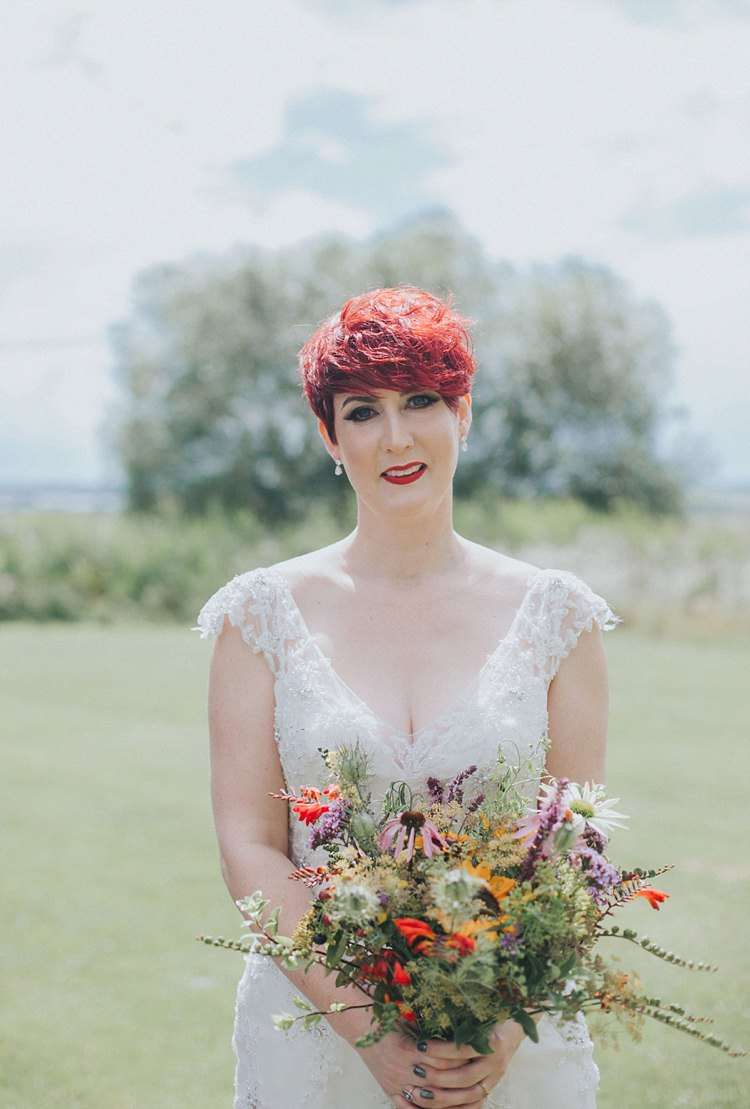 Colourful Informal Wedding Victorian Fairground Games Elmley Nature Reserve Kent http://www.juliaandyou.com/
