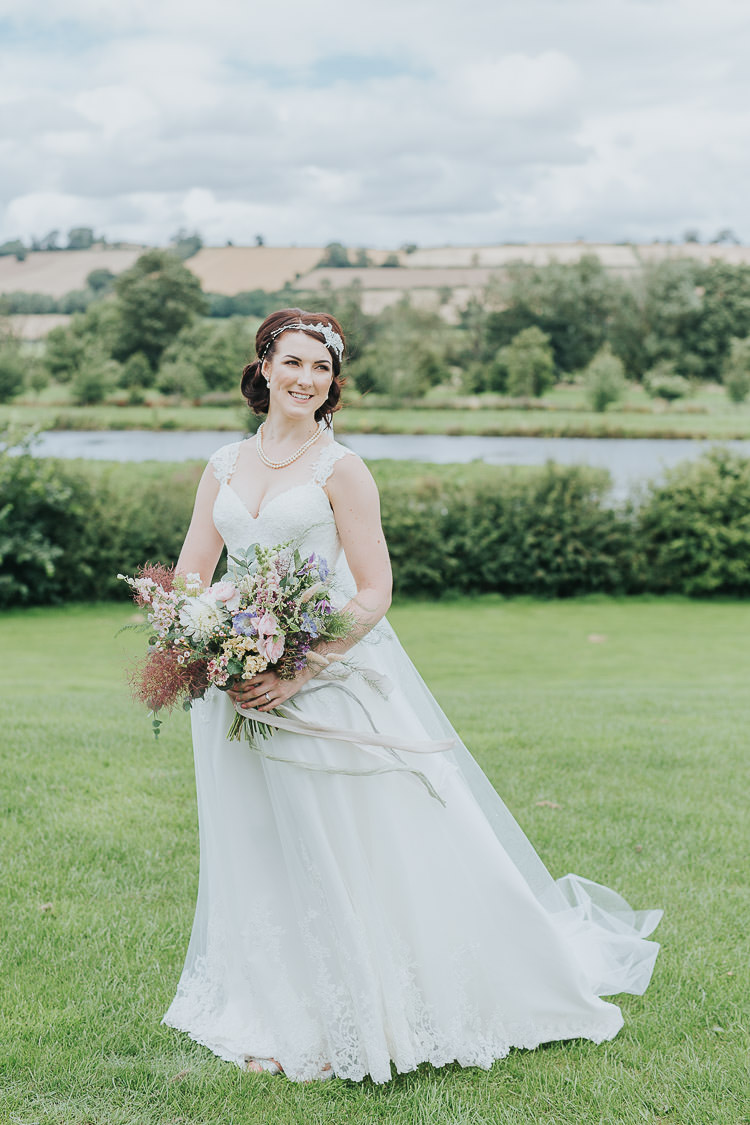 Essense of Australia Wedding Dress Bride Bridal Gown Straps Non-Traditional Country Party Barn Wedding Yorkshire http://www.lauracalderwood.co.uk/