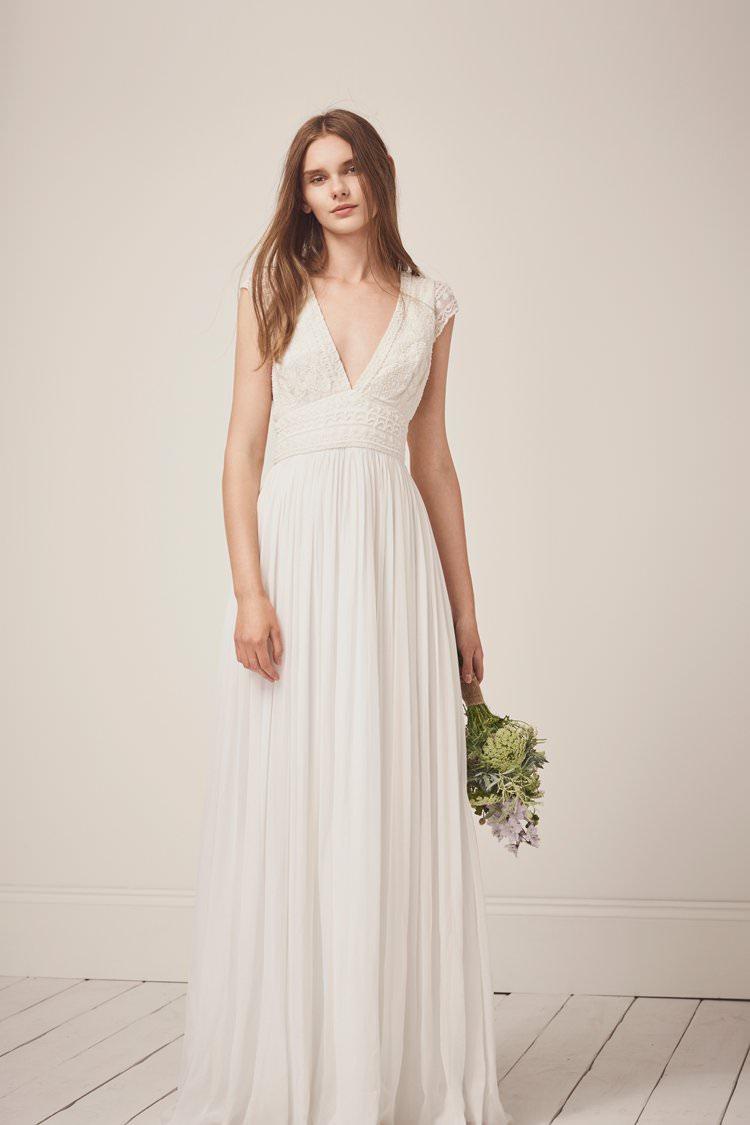 French Connection Modern Bridalwear Bride Bridal Wedding Wear Dresses