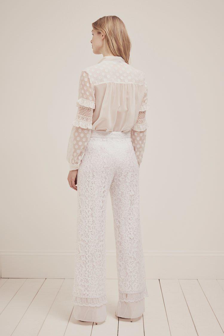 French Connection Modern Bridalwear Bride Bridal Wedding Wear Trousers Top Jumpsuit