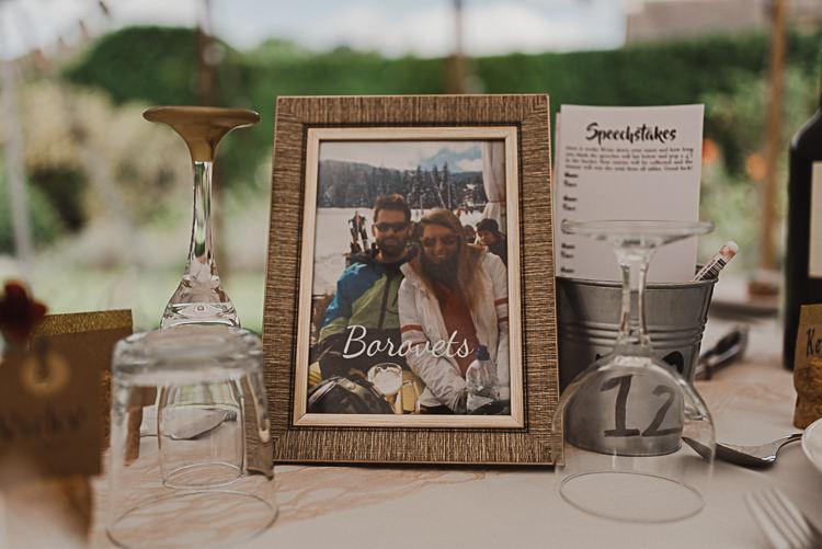 Table Name Frame Photograph Speechstakes Magical Marquee Summer Alveston Pastures Farm Wedding https://willpatrickweddings.com/