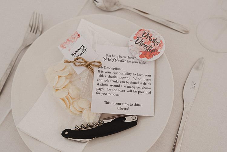 Drinks Director Magical Marquee Summer Alveston Pastures Farm Wedding https://willpatrickweddings.com/