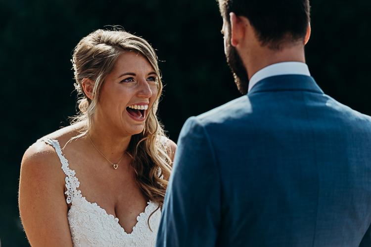 Bride Bridal Sleeveless Dress V Neck Magical Marquee Summer Alveston Pastures Farm Wedding https://willpatrickweddings.com/