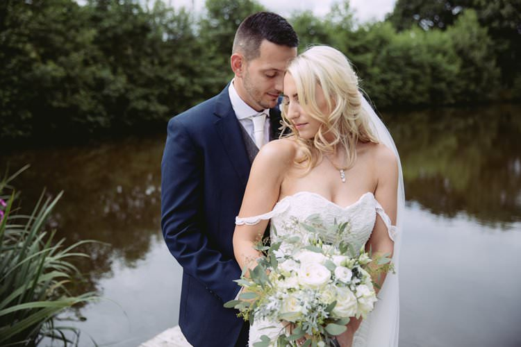 Greenery White Contemporary Wedding Styal Lodge Cheshire http://hayleybaxterphotography.com/