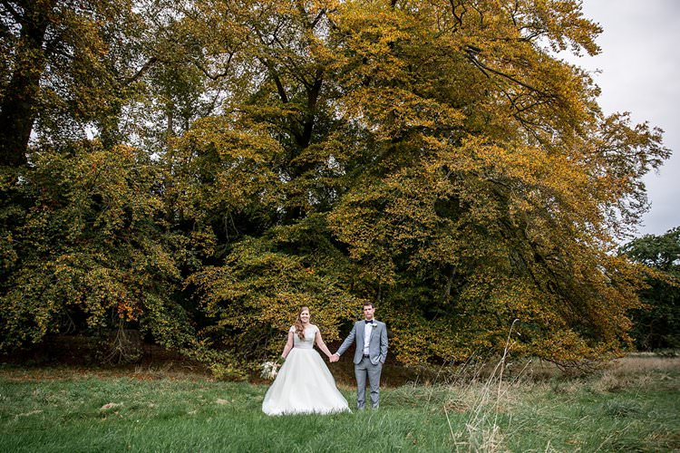 Rustic Autumn Blush Pink Gold Wedding Narborough Hall Gardens Norfolk http://katherineashdown.co.uk/