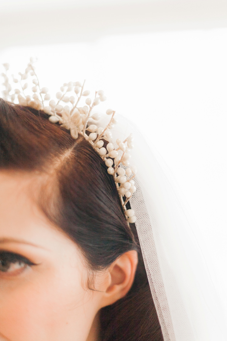 Hair Accessory Tiara Bride Bridal Vintage 1930s Wedding Worthing Pier West Sussex https://clairemacintyre.com/