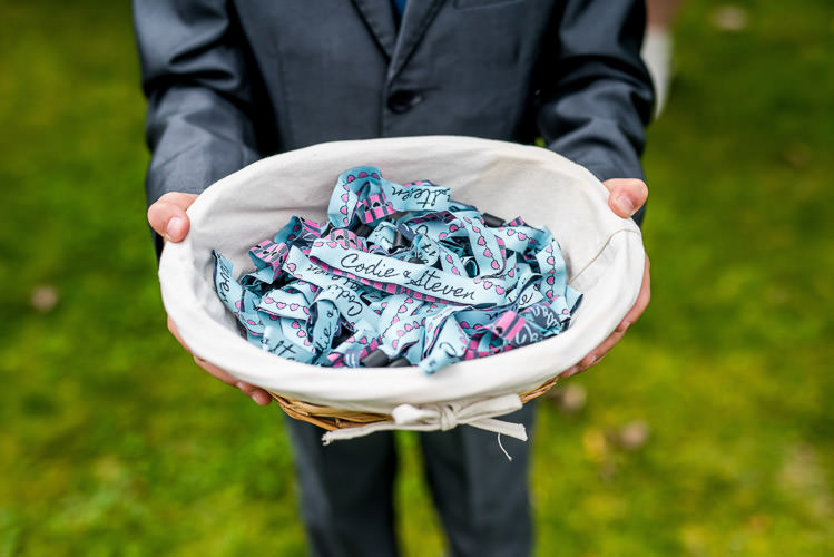 Festival Wrist Bands Mismatched Colourful Wildflower Meadow Wedding Hush Venues Norfolk http://lighteningphotography.co.uk/