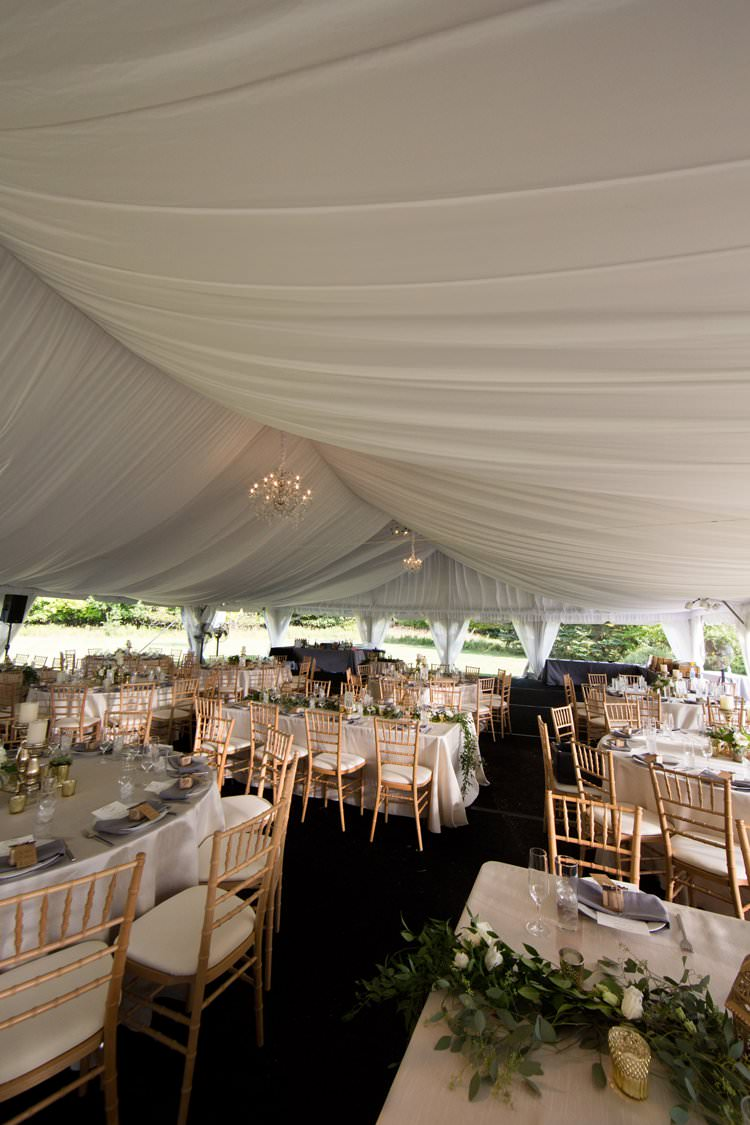 Outdoor Field Rustic Marquee Tipi Tent Wood Greenery Lanterns White Florals Gold | Black Tie Carnival Wedding Hot Air Balloon http://www.makingthemoment.com/