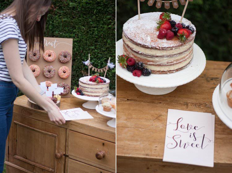 DIY Wedding Dessert Table Tutorial Cake Treat Bags