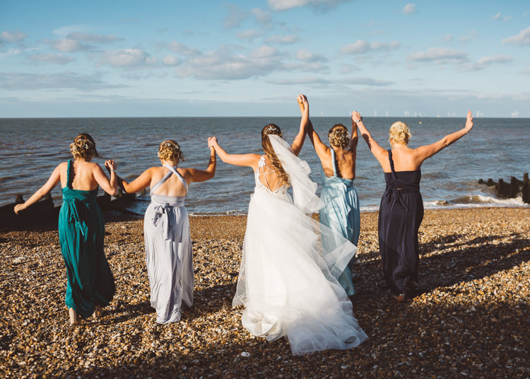 Cool Stylish Windy Coastal Wedding East Quay Lobster Shack Whitstable http://holliecarlinphotography.com/
