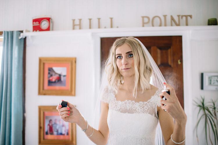 Hair Make Up Bride Bridal Prep Perfume Brass Copper Music Filled Barn Wedding East Riddlesden Hall Yorkshire https://www.joestenson.co.uk/