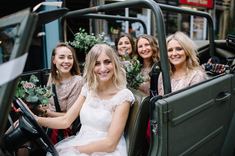 VW Trekker Car Transport Brass Copper Music Filled Barn Wedding East Riddlesden Hall Yorkshire https://www.joestenson.co.uk/
