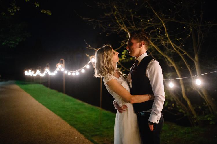 Festoon Lights Brass Copper Music Filled Barn Wedding East Riddlesden Hall Yorkshire https://www.joestenson.co.uk/
