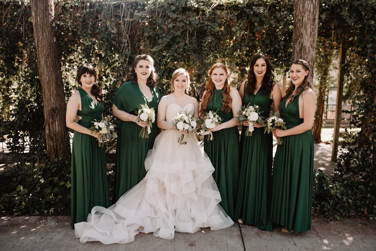 Dreamy Blush Emerald Fairytale Wedding Oklahoma http://www.kelcyleighphotography.com/
