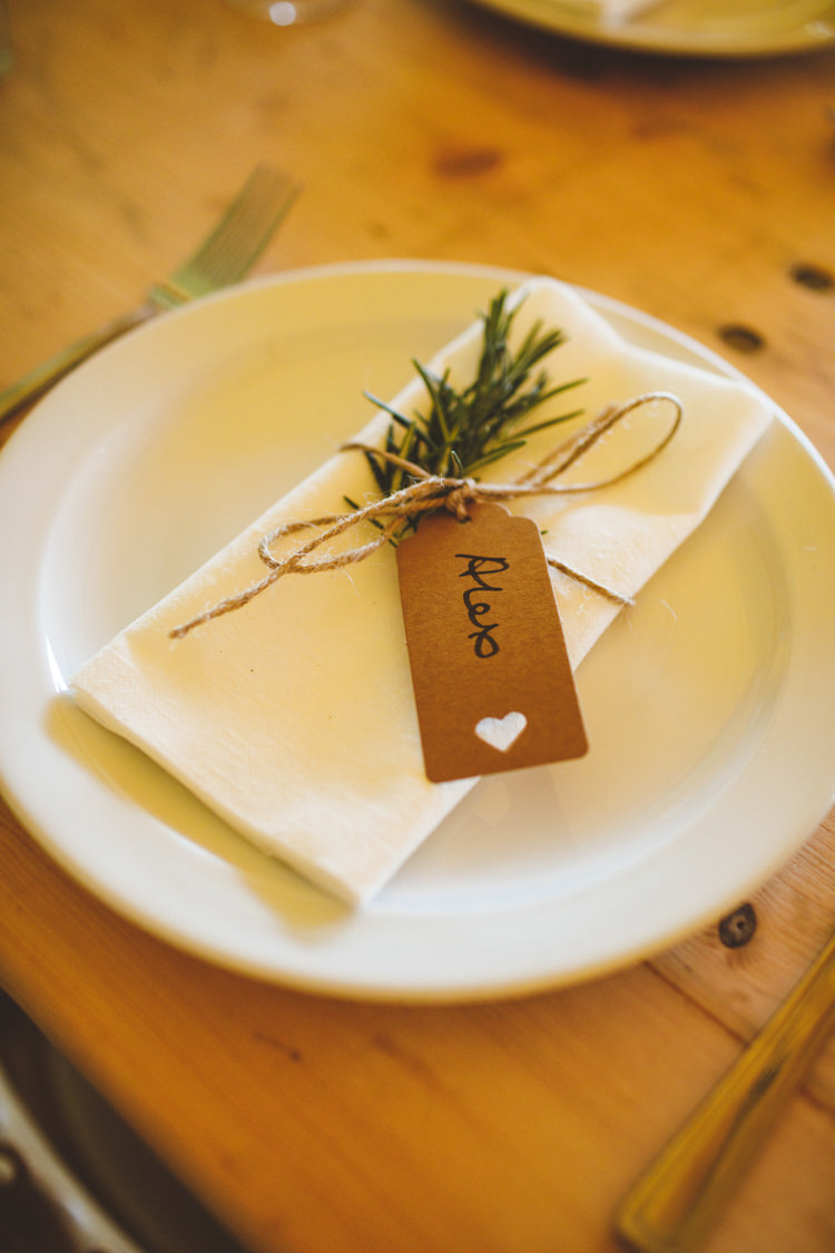 Rosemary Luggage Tag Place Name Setting Relaxed Country Tipi Yellow Wedding Hampshire https://photography34.co.uk/