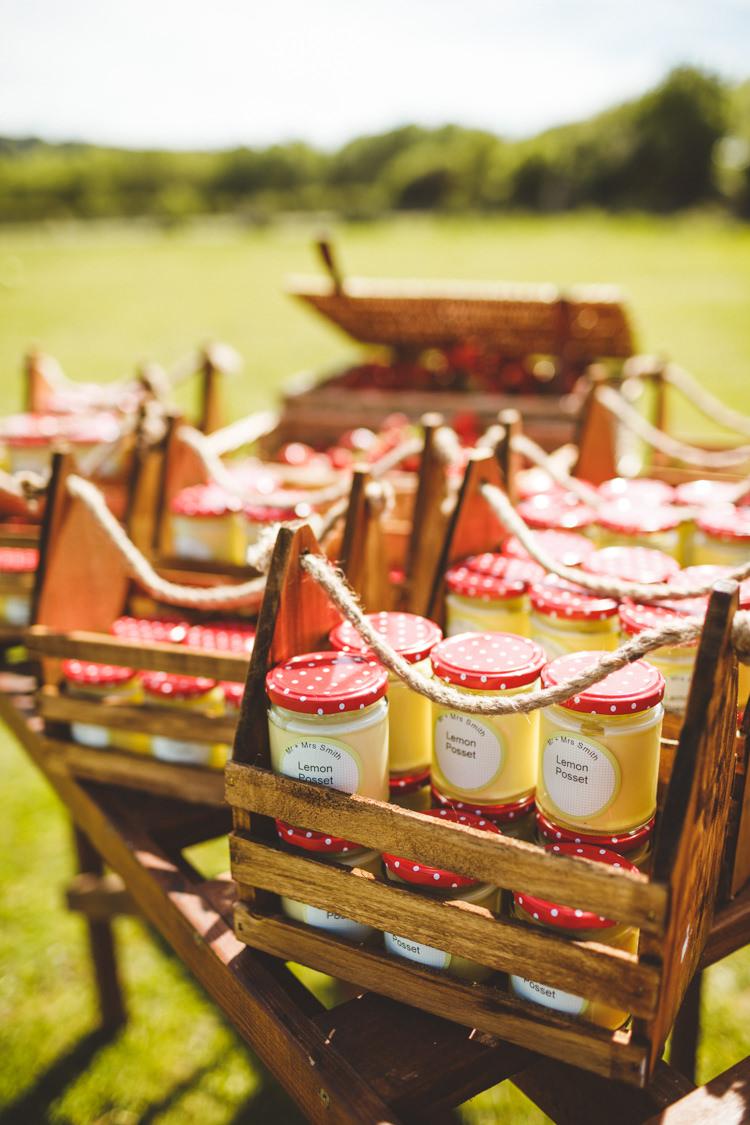 Lemon Posset Dessert Pudding Jam Jars Relaxed Country Tipi Yellow Wedding Hampshire https://photography34.co.uk/