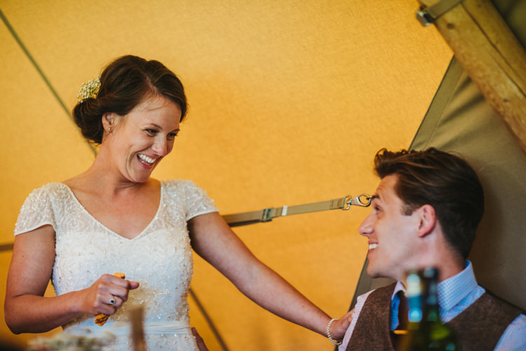 Relaxed Country Tipi Yellow Wedding Hampshire https://photography34.co.uk/
