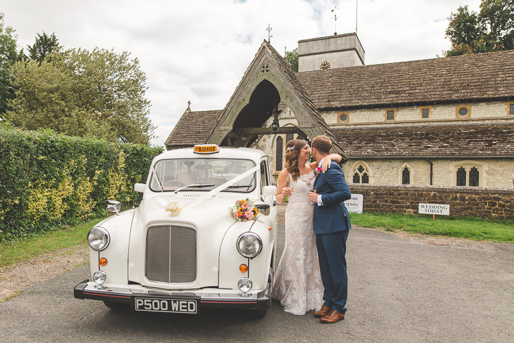 Bride Bridal Sottero & Midgeley Dress Gown Lace Shoulder Detail Richard James Suit Three Piece Waistcoat Blue Groom White Taxi Cab Colourful Outdoor Tipi Farm Wedding https://kirstymackenziephotography.co.uk/