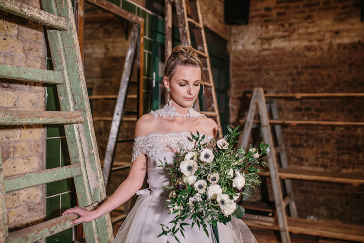 Luxe Industrial Velvet Wedding Ideas https://jessypapasavvaphotography.com/