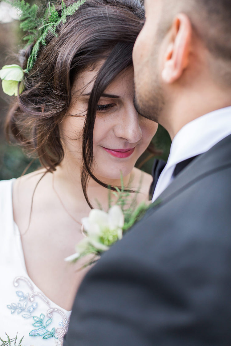 Hair Make Up Bride Bridal Lush Botanical City Roof Garden Wedding Ideas http://jessicadaviesphotography.co.uk/