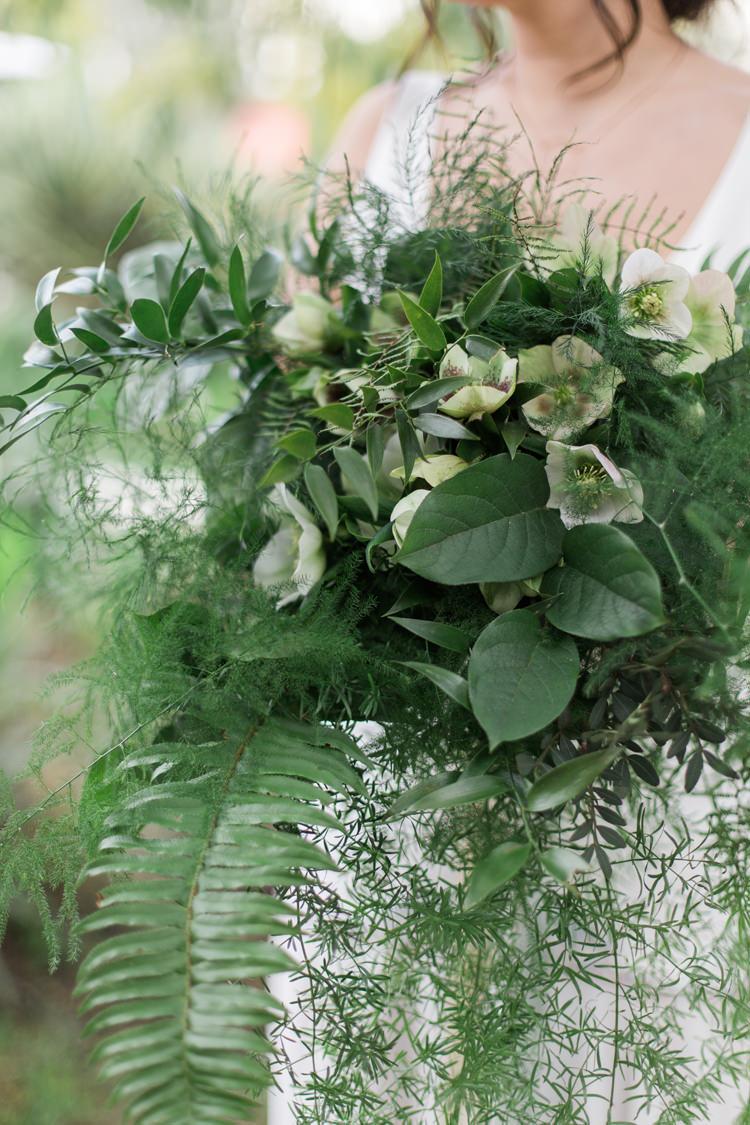 Lush Botanical City Roof Garden Wedding Ideas Whimsical