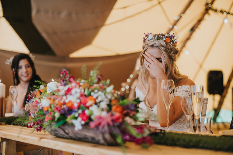 Angrove Park Tipi Wedding Yorkshire Bloom Weddings