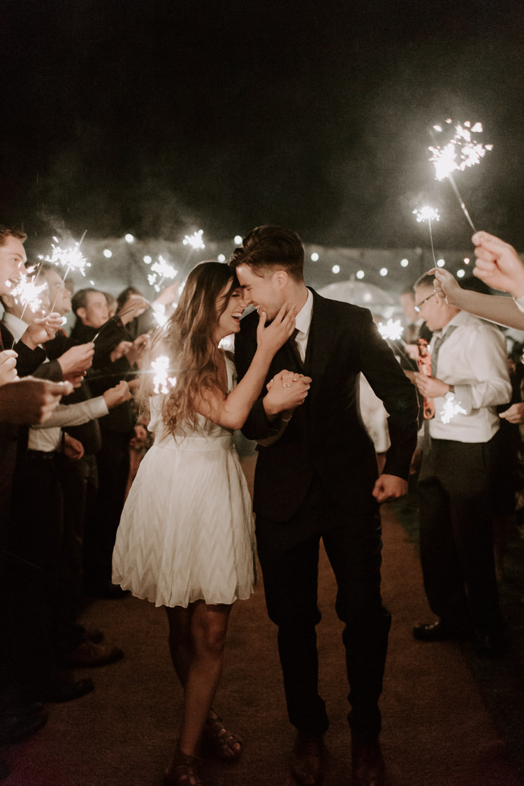 Stars in Our Eyes: Tips for Sparklers and Fireworks at Your Wedding