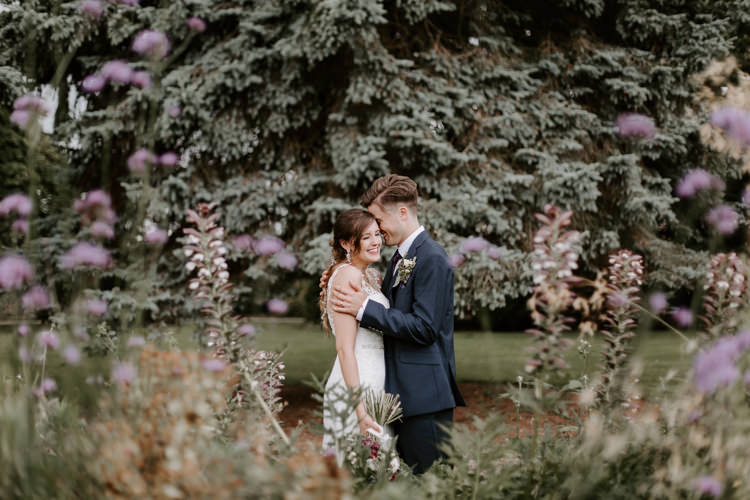 Botanical Summer Garden Wedding Nottingham Grace Elizabeth Photo & Film