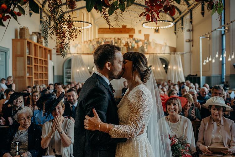 Carnegie Courthouse Wedding Village Hall Scotland Steven Gallagher Photography