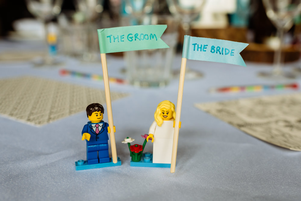 Name Place Card Bride Groom Lego Laid Back Harry Potter Wedding Daffodil Waves Photography