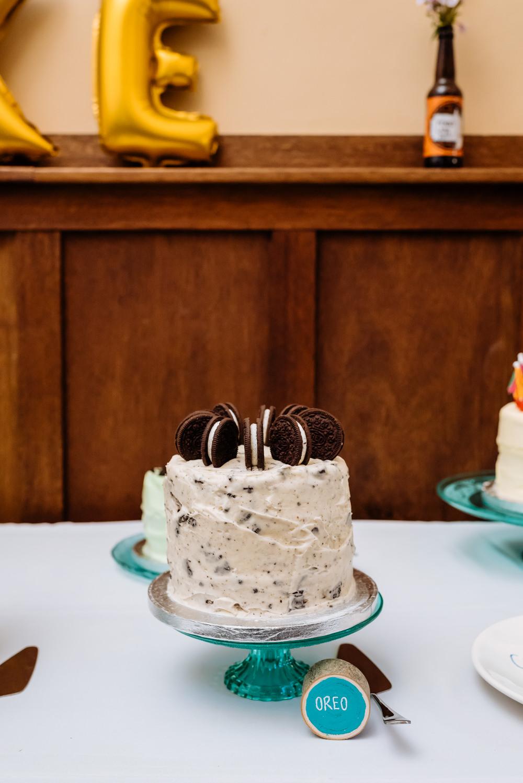 Oreo Cake Buttercream Laid Back Harry Potter Wedding Daffodil Waves Photography